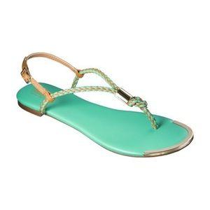 🧚🏻♀️ Mossimo Audrey Braided Strap Sandal